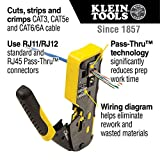 Klein Tools VDV226-110 Wire Crimper / Wire Cutter
