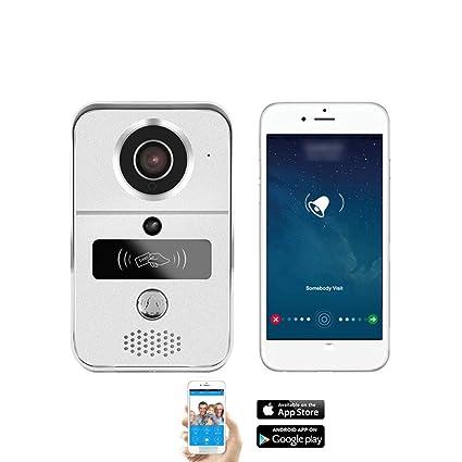 Amazon com: Smart Home WiFi IP Video Door Phone Intercom
