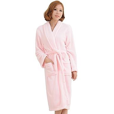 Robe de chambre en flanelle femme