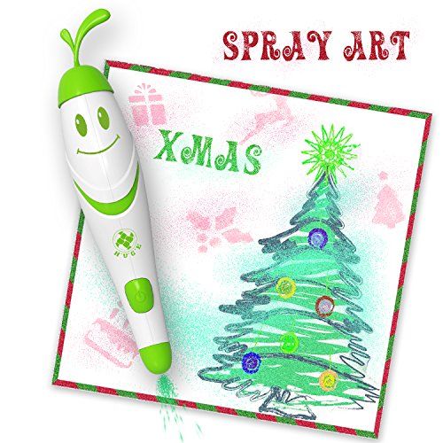 Spray Art Marker Electric Airbrush Marker Set, Air Marker Sprayer, Magic Sprayer Kids Boys Girls Toy Christmas Gift Children Gift C&Live