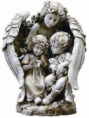 Roman Angel Wall Sculpture