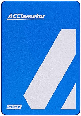 Acclamator SSD 480GB 2.5 Inch Internal SSD SATA3 6Gb/s Solid State Drive for Laptop Desktop PC (Blue)