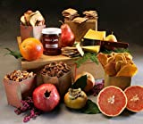 Organic Bounty Gift Basket Made to Order by Manhattan Fruitier with 7 Organic Seasonal Fruit, Organic Tarentaise Cheese, Organic Crackers,Organic Dried Fruits & Nuts, and Organic Small Batch Jam.