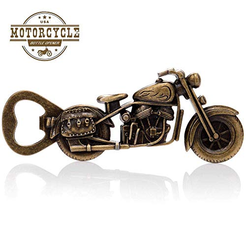 Vintage Motorcycle Bottle Opener - Gifts for Bikers