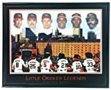 "Framed Baltimore Orioles ""Little Legends"" Print - Ripken, Palmero, Tejada, Sosa, Robinson & Murray"