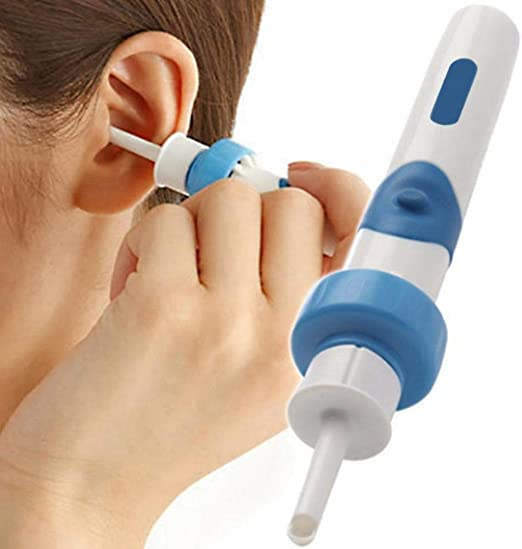 SNIIA Limpiador de oído eléctrico Kit de extracción de Cera ...