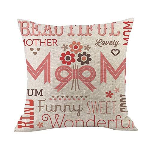 Amazon.com: EOWEO - Funda de cojín para el día de la madre ...