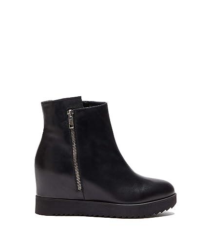 Poi Lei Damen Schuhe Wedges Boots Beatrice Schwarz