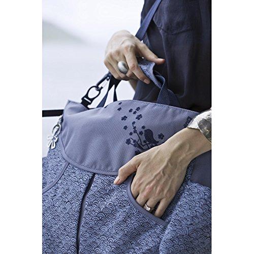 Okiedog Mondo-Bolso cambiador con bandolera beige - taupe Azul
