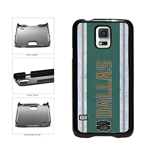 (BleuReign(TM) Hockey Team Hashtag Dallas #Dallas Plastic Phone Case Back Cover For Samsung Galaxy S5)