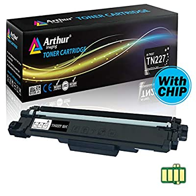 Arthur Imaging with CHIP Compatible Toner Cartridge Replacement Brother TN227(Black, 1 Pack)