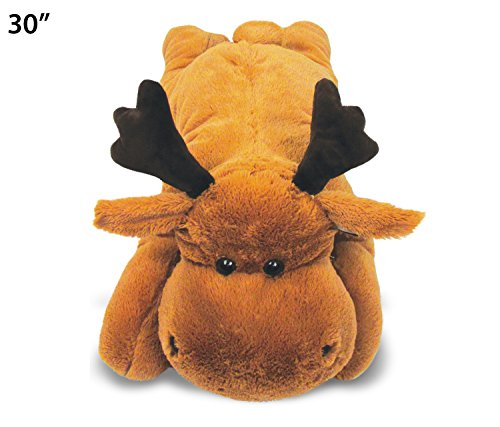 (Puzzled Moose Stylish Plush Pillow, X- Large/30