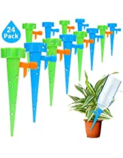 Plant Watering Spikes Automatic Watering Drip Irrigation System with Slow Release Control Switch for Garden Plant Pot Outdoor Indoor