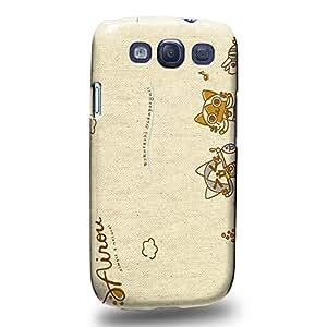 Case88 Premium Designs Monster Hunter Poka Poka Airou Giri-AiruG Pugi 1146 Carcasa/Funda dura para el Samsung Galaxy S3