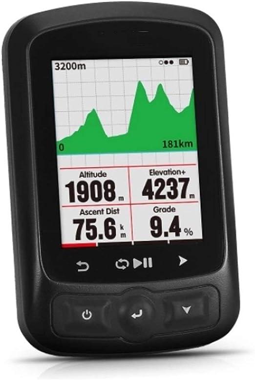 Cuentakilómetros para Bicicleta Función GPS Cycling Computer con ...