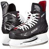 Bauer Men's Field Hockey Shoes, Black Schwarz Weiss