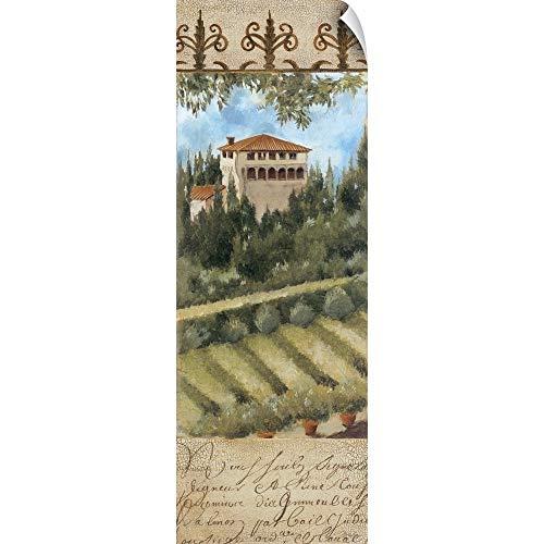 (CANVAS ON DEMAND Tuscany Villa II Wall Peel Art Print,)