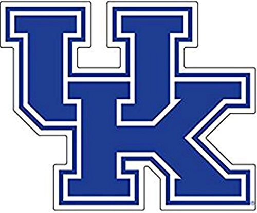 Kentucky Wildcats Bean Bag - Kentucky Wildcats, Blue/ White UK, Large Premium Vinyl Decal, Cornhole,