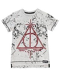 Harry Potter Boys Deathly Hallows T-Shirt