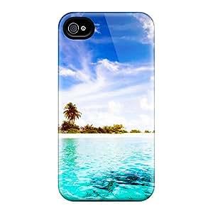 For Iphone 5/5s Fashion Design Maldives Diggiri Island Case-XVtR120