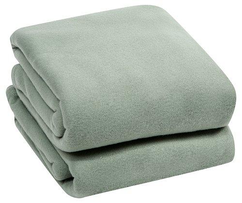 ROYAL LUXURY Micro Plush TWIN Blanket, SAGE
