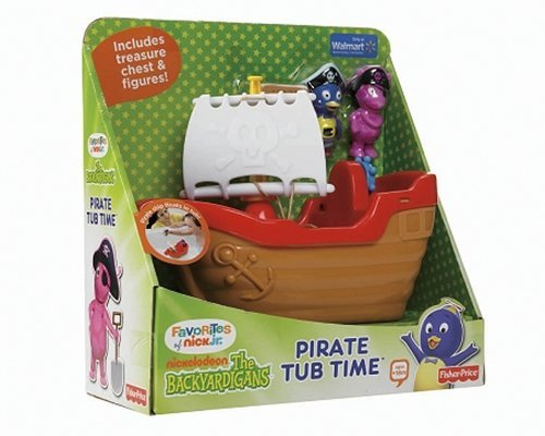 The Backyardigans Toy - The Backyardigans Exclusive Playset Pirate Tub Time