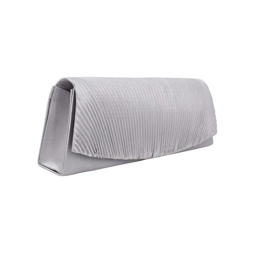 Clutch Evening Bag Pleated...