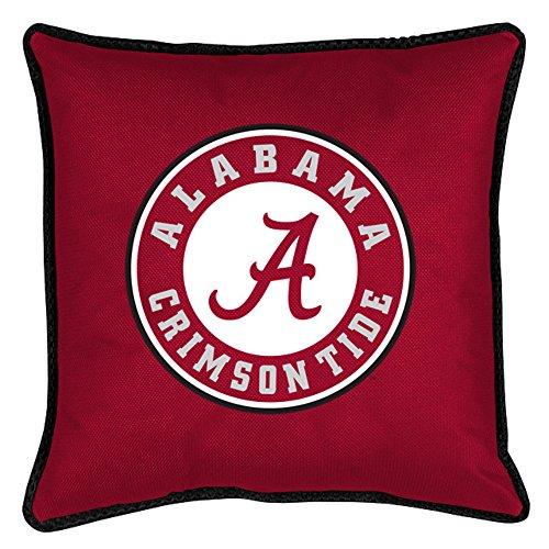 Sports Coverage NCAA Alabama Crimson Tide Sideline (Alabama Crimson Tide Throw Pillow)