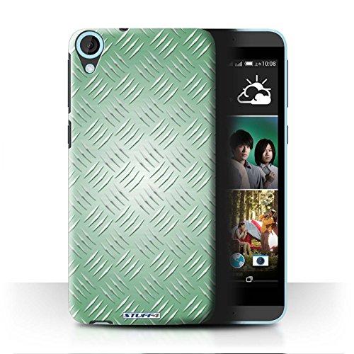 Coque de Stuff4 / Coque pour HTC Desire 820 / Vert Design / Motif en Métal en Relief Collection