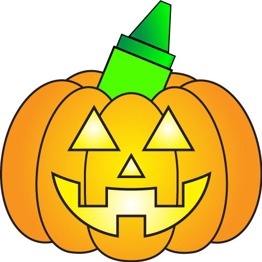 Halloween Games & Coloring]()