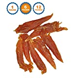 Chicken Jerky for Dogs Bulk - 6 Pounds | 100% Natural Chicken Dog Treats Dog Treats | Made in Brazil | 123 Treats