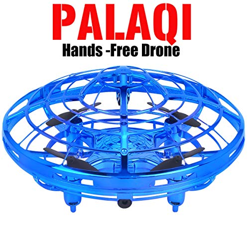 Drones for Kids, Flying Toys Boys Girls Kids Christmas Birthday Gifts Infrared Induction Auto-avoid Obstacles Quadcopter Helicopter Novelty Hand Controlled RC Toy Childrens Adults Beginners Mini -