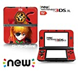 Ci-Yu-Online VINYL SKIN [new 3DS XL] - Neon Genesis Evangelion EVA #2 Asuka Langley Soryu - Limited Edition STICKER DECAL COVER for NEW Nintendo 3DS XL / LL Console System