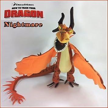 Peluche de Cómo entrenar a tu dragón monstruoso Animal de peluche pesadilla nuevo: Amazon.es: Hogar