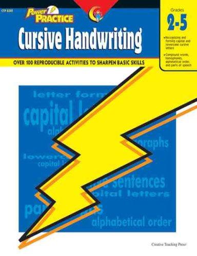 Power Practice-Cursive Handwriting, Gr. 2-5