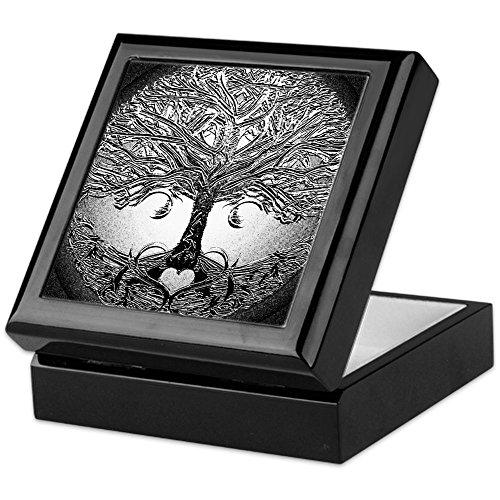 - CafePress - Tree of Life Bova - Keepsake Box, Finished Hardwood Jewelry Box, Velvet Lined Memento Box