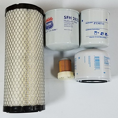 Kubota L2800 L3400 L3700SU HST Filter Kit - (Donaldson - Baldwin - Sure Filter)