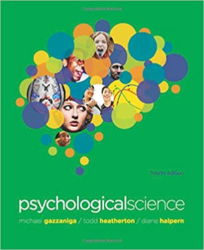 psychological science gazzaniga 4th edition free