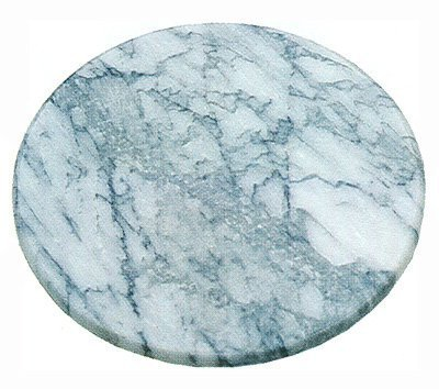 Scandicrafts Green Marble 10 Inch Round Cheese Cutting Board by SCI Scandicrafts