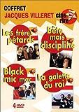 Coffret Jacques Villeret 4 DVD : Les Frères Pétard / Bête mais discipliné / Black Mic-Mac / La Galette du roi