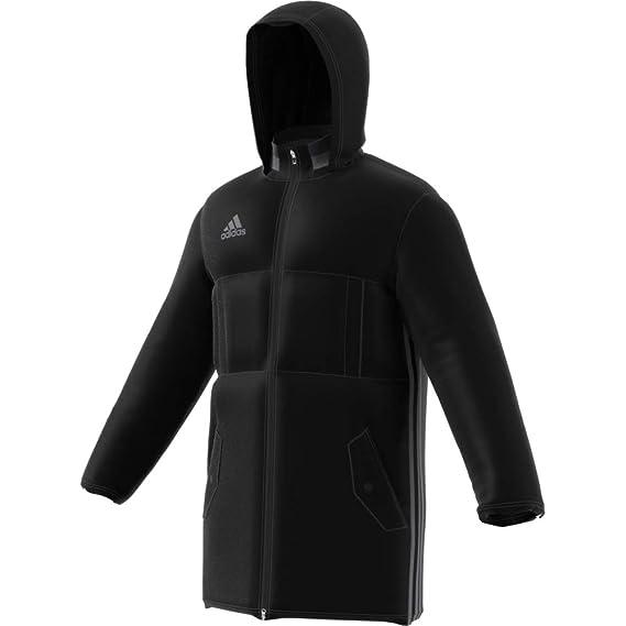 Details zu Adidas Fußball Condivo 18 Stadium Parka Stadium Jacke Herren schwarz