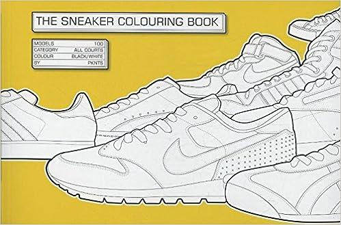 The Sneaker Coloring Book Henrik Klingel Daniel Jarosch