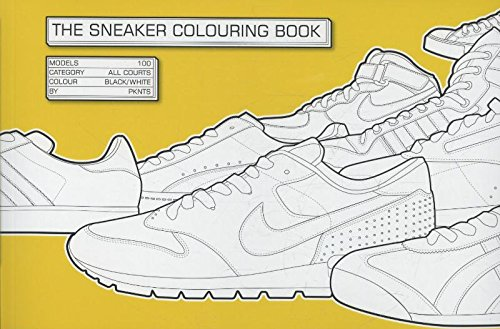 The Sneaker Coloring Book by Laurence King Publishing