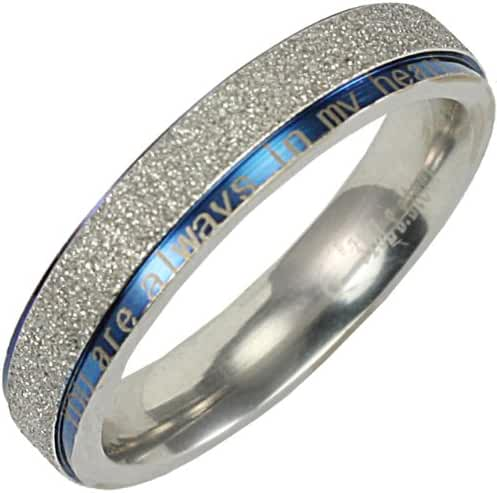 Stainless Steel Blue and Silver-Tone