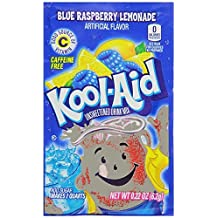 Kool-Aid Twists Ice Blue Raspberry Lemonade Unsweetened Soft Drink Mix, 0.22-Ounce Packets (Pack of 48) by Kool-Aid
