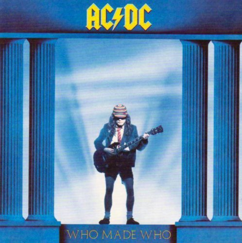 ac dc who made who cd - 9