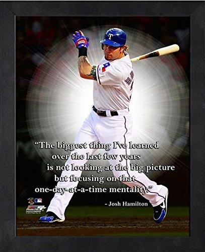 (Josh Hamilton Texas Rangers ProQuotes Photo (Size: 12