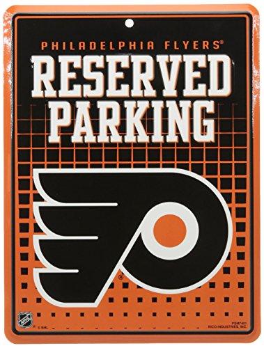 NHL Philadelphia Flyers Hi-Res Metal Parking Sign