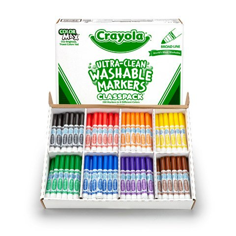 Better Crafts CLASSPACK MARKER 200CT BL WASHABLE 8 COLORS (1 pack) (0100242280) by Better crafts