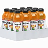 Honest Tea Organic Fair Trade Peach Tea Gluten Free, 16.9 Fl. Oz, 12 Pack